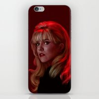 Laura Palmer From Twin P… iPhone & iPod Skin