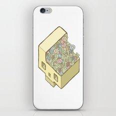 FlowerSkull iPhone & iPod Skin