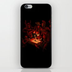 Draw Your Weapon iPhone & iPod Skin