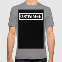 Originel Mens Fitted Tee Tri-Grey SMALL