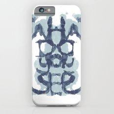 Typography Psychology iPhone 6 Slim Case