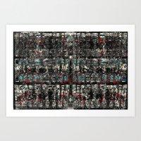 Graf-Grid 1 Art Print