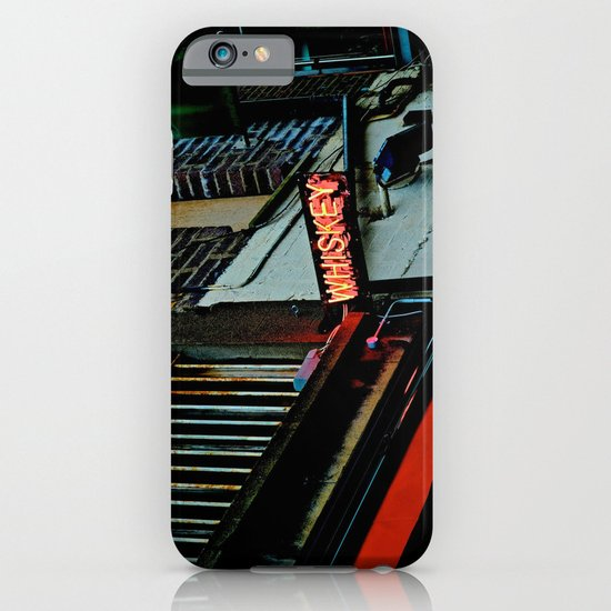 Back Alley Whiskey iPhone & iPod Case