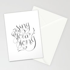 Sing Your Song Stationery Cards