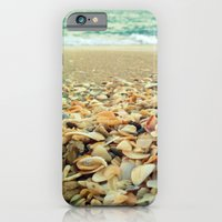 iPhone & iPod Case featuring Shore and Shells by Beach Bum Chix