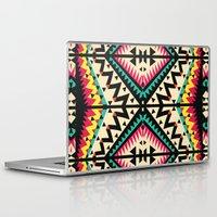 tribal Laptop & iPad Skins featuring Tribal by Ornaart