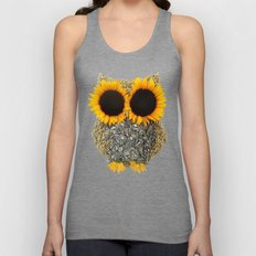 Hoot! Day Owl! Unisex Tank Top