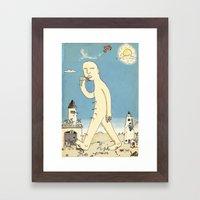 Aigamuxa Framed Art Print