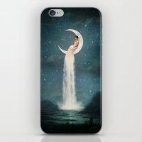 Moon River Lady iPhone & iPod Skin