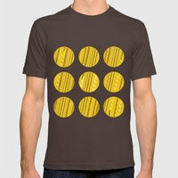 Fields of Gold Mens Fitted Tee Brown SMALL