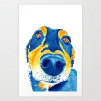 Sausage Lover (sm) Art Print