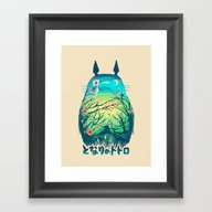 He Is My Neighbor Framed Art Print
