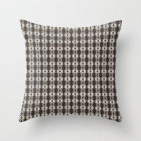 Skull Pattern Throw Pillow