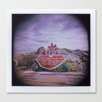 Salvation Mountain Canvas Print