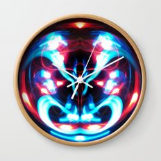 Sphere I (Staring) Wall Clock