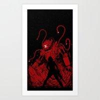 Surprise Attack Art Print