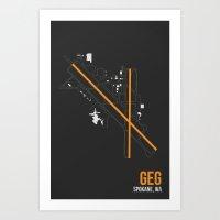 GEG Art Print