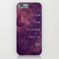 iPhone & iPod Case featuring The Places You'll Go I by Galaxy Eyes