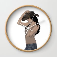 Susie Sureshot Wall Clock