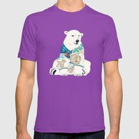 Polar Bear Mens Fitted Tee Ultraviolet SMALL