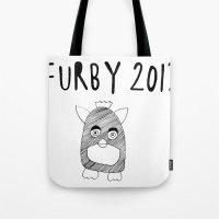 Furby 2012 Tote Bag