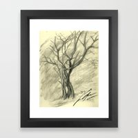 Spring Tree Framed Art Print
