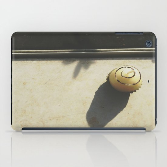 Chocolate Scented Candle iPad Case
