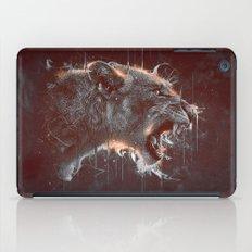 DARK LION iPad Case