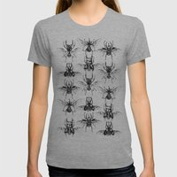 Scarabs Womens Fitted Tee Athletic Grey SMALL