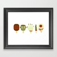 The Walking Dead Summer … Framed Art Print