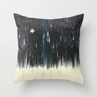 warpspeed Throw Pillow