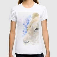 Lioness Womens Fitted Tee Ash Grey SMALL