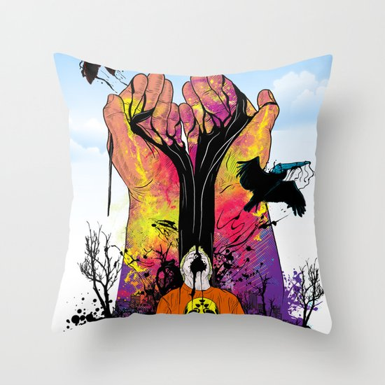Hope for Better Life Throw Pillow