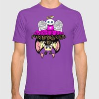 Angel And Demon RonkyTon… Mens Fitted Tee Ultraviolet SMALL
