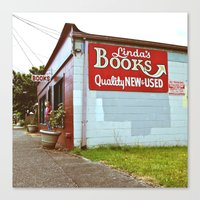 Little Tacoma bookstore  Canvas Print
