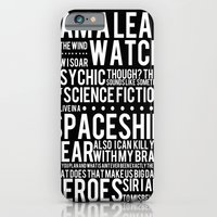 Firefly Subway Poster iPhone 6 Slim Case