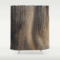 Weathered texture Shower Curtain