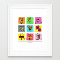 Author/Philosopher Colle… Framed Art Print
