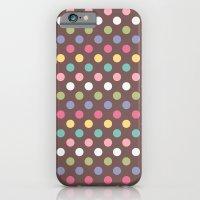 Color Dots iPhone 6 Slim Case