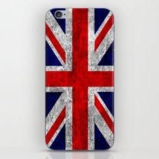 Union Jack Grunge Flag iPhone & iPod Skin