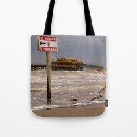 Se Prohibe Nadar Tote Bag