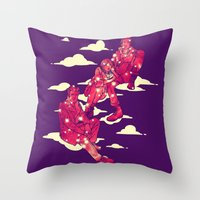 The Inner Space Throw Pillow