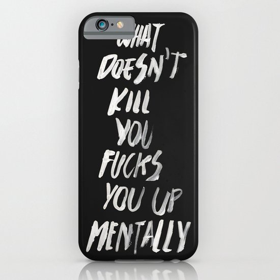 Mentally, alternative iPhone & iPod Case