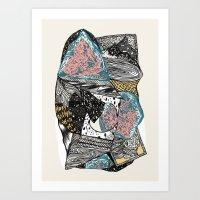 Cosmic geology Art Print