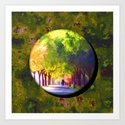 A Walk in the Park Art Print
