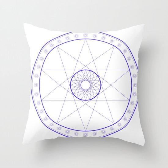 Anime Magic Circle 10 Throw Pillow