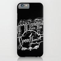 Speed Limit iPhone 6 Slim Case