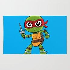 TMNT Raphael Rug