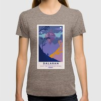 Dalaran Classic Rail Poster Womens Fitted Tee Tri-Coffee SMALL