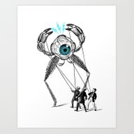 Art Print featuring The Taming  by Victor Calahan